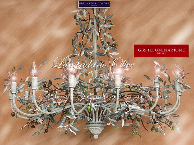 Lampadari in Ferro battuto - Wrought iron from FlorenceGBS ...