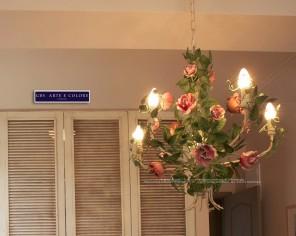 Lampdario Romantico - Romantic Chandelier
