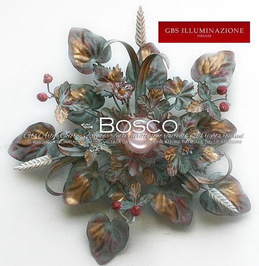 Plafoniera Bosco 1 Luce