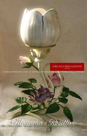 Abat Jour Magnolia e Rose