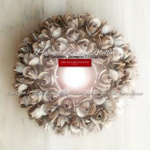Plafoniera 1 Luce - Bonbon Roselline