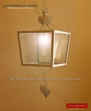 Lanterna Cuori. Lanterne in Ferro battuto, GBS FIRENZE. Su misura