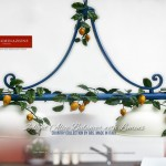 2-light Alice Balancer with Lemons - Country Kitchen