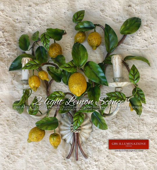 Very high hand-crafted quality.  Designed and produced in Florence.    GBS, wrought iron in Florence since 1925 - Capri Country Chic Kitchen