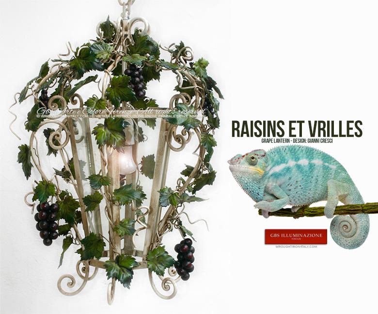 Lanterne blanche. Pour l'éclairage de la salle à manger ou de la cuisine,  comme lustre pour un barnum ou une orangerie.