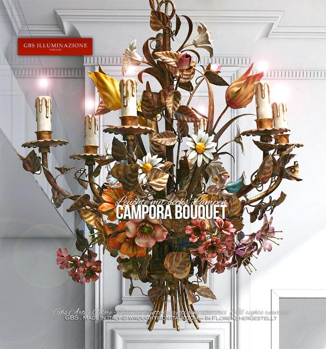 Campora Bouquet Leuchte Mit Sechs Lampen Gbs