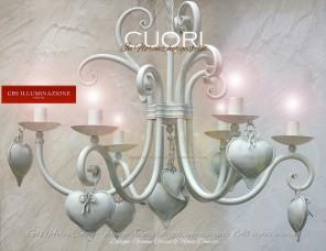 Weißer-Leuchter Der Leuchter für das Schlafzimmer oder Kinderzimmer wird nach Maß in den passenden Farben, mit oder ohne Lampenschirm gefertigt.