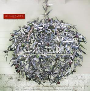 Lampada a sospensione con Olive. Bonbon Collection