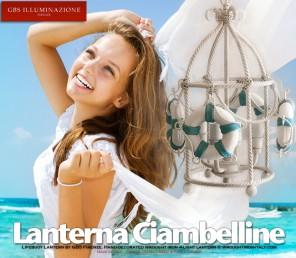 Stile Nautical, Lanterna Ciambelline in Corda.