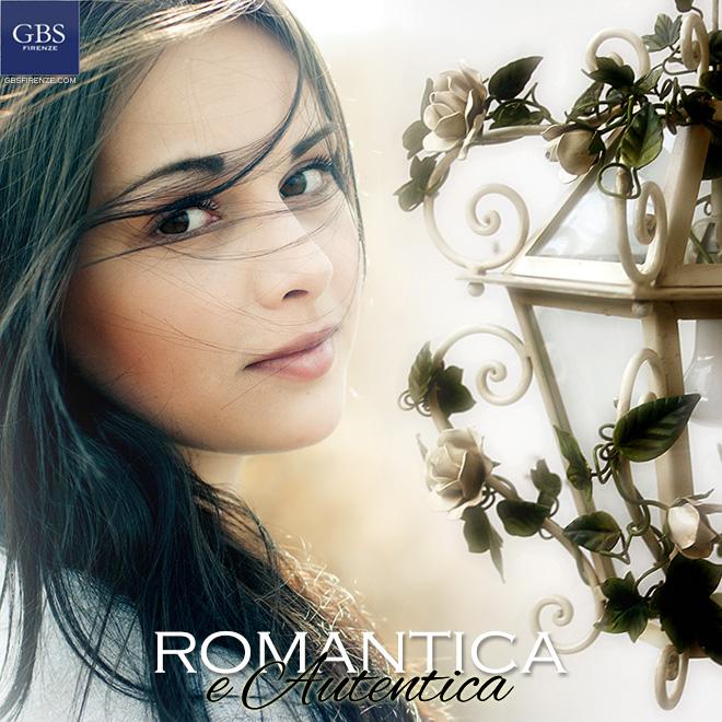 Romantica e Autentica. Lanterna di Rose di GBS. Design di Gianni Cresci. Per la cameretta, per la sala shabby.