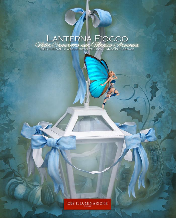 Lanterna Fiocco per Camera da Letto e la Cameretta