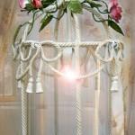 Brunellesca di GBS. Lanterna romantica con rose rampicanti. Per ambienti romantici.