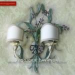 Applique Lavanda - GBS - Lo shabby romantico di GBS - Design di Gianni Cresci