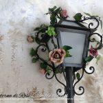 Lanterna di Rose. Versione Lampioncino. Designer Gianni Cresci.