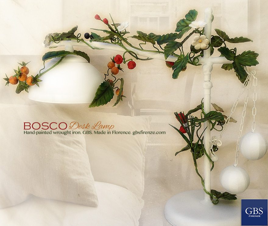 Bosco Table Lamp. Desk. Lamp de Table. Country Chic