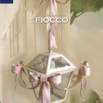 Five Bows Lantern. Hand painted wrought iron - you pick the color