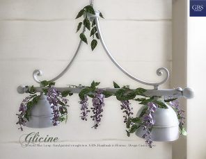 Wisteria Chandelier. Alice 2-light pool table lamp